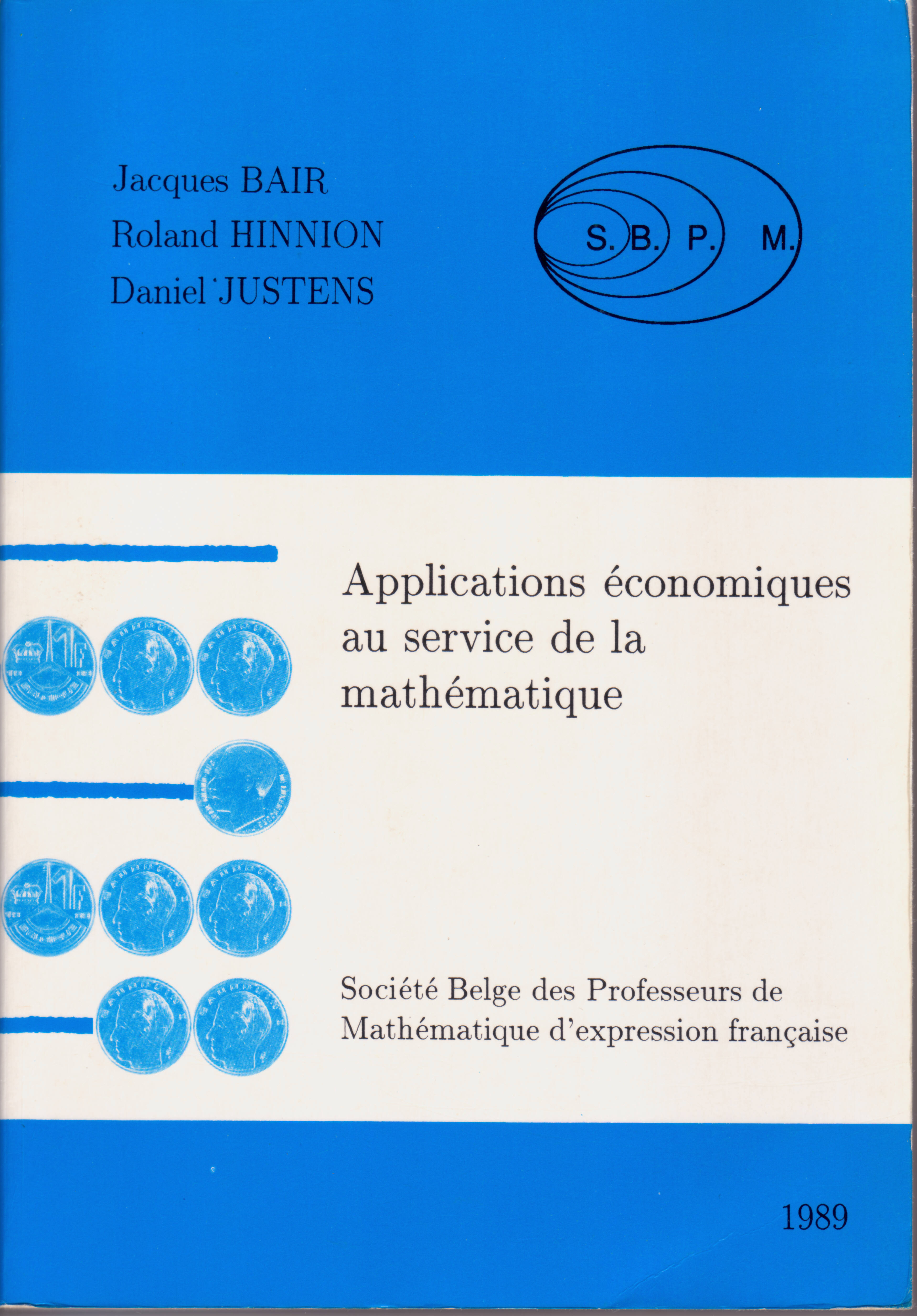 Applications économiques