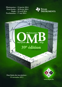 39e olympiade mathématique belge