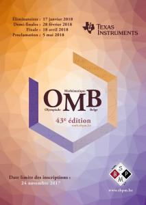 43e olympiade mathématique belge